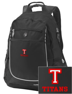 Trinity High School Titans Embroidered OGIO Carbon Backpack