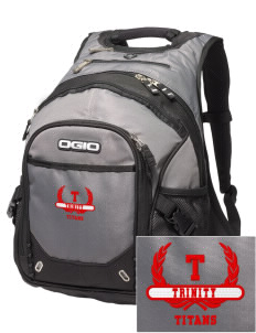 Trinity High School Titans Embroidered OGIO Fugitive Backpack