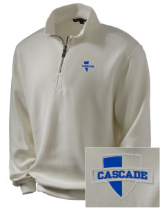 Cascade Middle School Kodiaks Embroidered Men's 1/4-Zip Sweatshirt