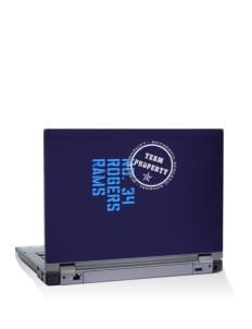 "Rogers High School Rams 15"" Laptop Skin"