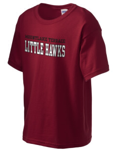 Mountlake Terrace Elementary School Little Hawks Kid's 6.1 oz Ultra Cotton T-Shirt