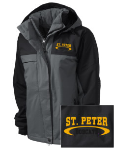 Saint Peter School Bobcats  Embroidered Women's Nootka Jacket
