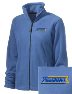 Saint Peter School Bobcats Embroidered Women's Wintercept Fleece Full-Zip Jacket