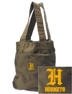 Harney Elementary School Hornets Embroidered Alternative The Berkeley Tote