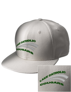 Mentor Lake Catholic High School Cougars  Embroidered New Era Flat Bill Snapback Cap