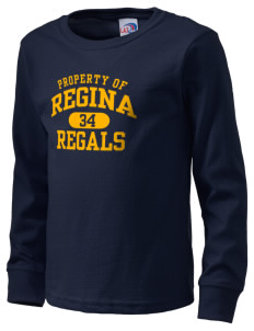 Regina High School Regals  Kid's Long Sleeve T-Shirt