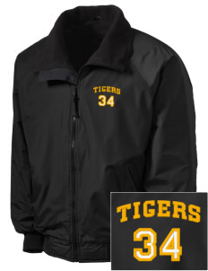 Beacon Hill Elementary School Tigers Embroidered Tall Men's Challenger Jacket