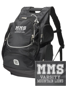 Meany Middle School Jaguars  Embroidered OGIO Bounty Hunter Backpack