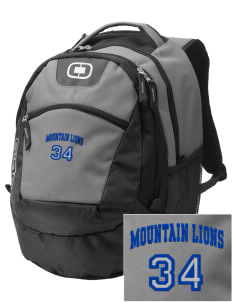 Meany Middle School Jaguars Embroidered OGIO Rogue Backpack