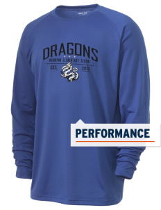 Brighton Elementary School Dragons Men's Ultimate Performance Long Sleeve T-Shirt