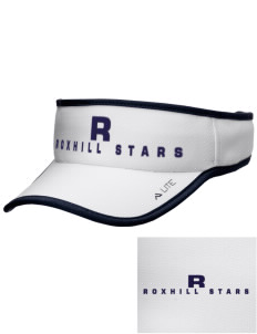 Roxhill Elementary School Stars Embroidered Lite Series Active Visor