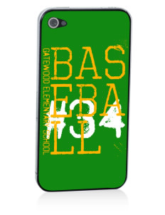 Gatewood Elementary School Gators Apple iPhone 4/4S Skin