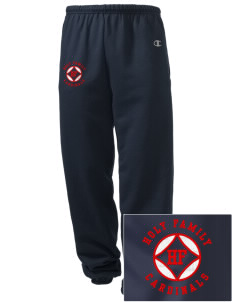Holy Family School Cardinals Embroidered Champion Men's Sweatpants