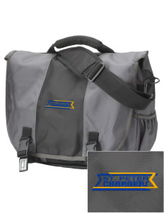 Saint Peter School Chargers  Embroidered Montezuma Messenger Bag
