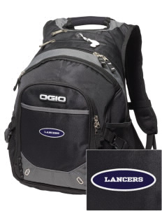 Our Lady Of Lord Saint James School Lancers Embroidered OGIO Fugitive Backpack