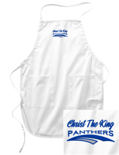 Christ The King School Panthers Embroidered Full Length Apron