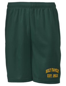 "Holy Family School Falcons Men's Mesh Shorts, 7-1/2"" Inseam"
