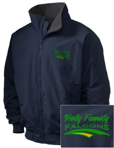 Holy Family School Falcons Embroidered Holloway Men's Tall Jacket