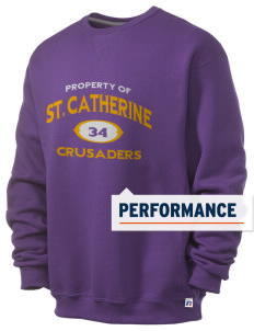 Saint Catherine School Crusaders  Russell Men's Dri-Power Crewneck Sweatshirt