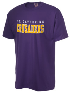 Saint Catherine School Crusaders  Russell Men's NuBlend T-Shirt