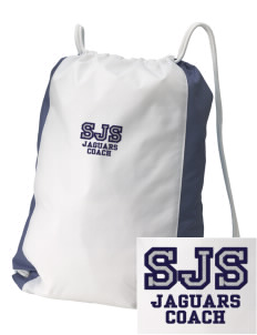 Saint Joseph School Jaguars Embroidered Holloway Home and Away Cinch Bag