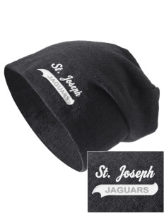 Saint Joseph School Jaguars Embroidered Slouch Beanie