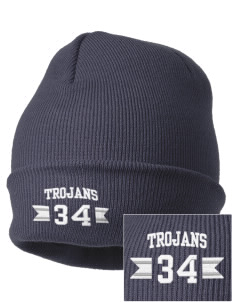 Trinity Catholic School Trojans Embroidered Knit Cap
