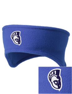 Trinity Catholic School Trojans Embroidered Fleece Headband