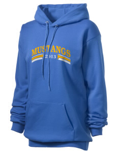Highland Park Elementary School Mustangs Unisex Hooded Sweatshirt