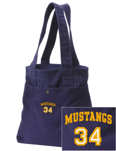 Highland Park Elementary School Mustangs Embroidered Alternative The Berkeley Tote