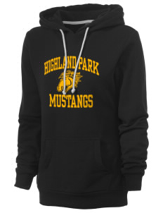 Highland Park Elementary School Mustangs Women's Core Fleece Hooded Sweatshirt