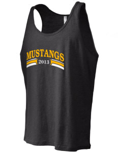 Highland Park Elementary School Mustangs Men's Jersey Tank