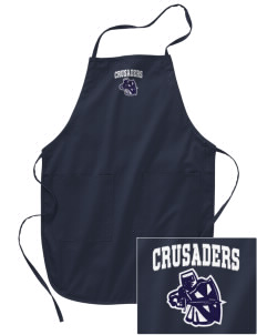 Canevin Catholic High School Crusaders Embroidered Full Length Apron