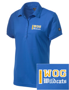 Word Of God School Wildcats Embroidered OGIO Women's Jewel Polo