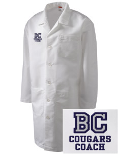 Bois Central Catholic Elementary Cougars Full-Length Lab Coat