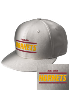 Shiloh Elementary School Hornets  Embroidered New Era Flat Bill Snapback Cap