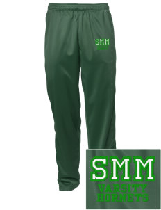 Saint Margaret Mary School Hornets Embroidered Men's Tricot Track Pants