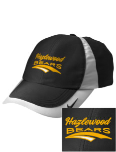 Hazlewood Elementary School Bears Embroidered Nike Golf Colorblock Cap