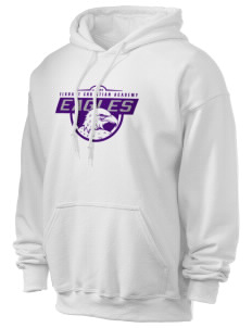 Elkhart Christian Academy Eagles Ultra Blend 50/50 Hooded Sweatshirt