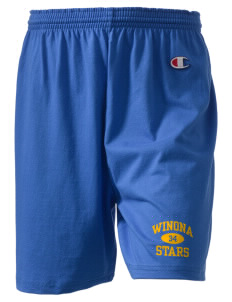"Winona Academy Stars  Champion Women's Gym Shorts, 6"" Inseam"