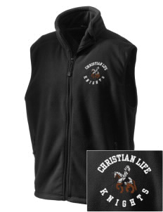 Christian Life School Knights Embroidered Unisex Wintercept Fleece Vest