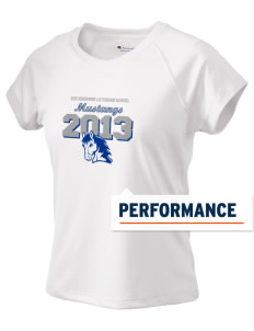 Our Redeemer Lutheran School Mustangs Champion Women's Wicking T-Shirt