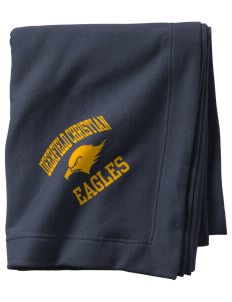 Deerfield Christian Academy Eagles  Sweatshirt Blanket