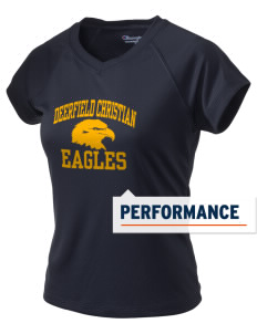 Deerfield Christian Academy Eagles Champion Women's Wicking T-Shirt