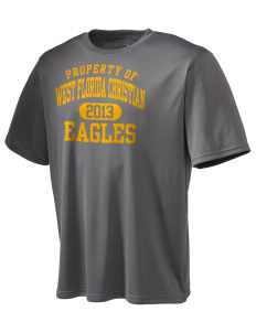 West Florida Christian School Eagles Champion Men's Wicking T-Shirt