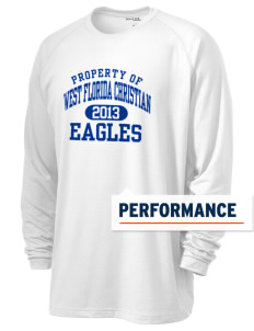 West Florida Christian School Eagles Men's Ultimate Performance Long Sleeve T-Shirt