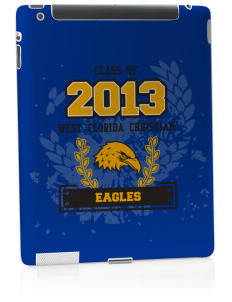 West Florida Christian School Eagles Apple iPad 2 Skin