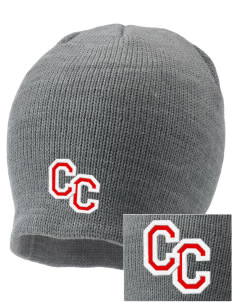 Community Christian Academy Defenders Embroidered Knit Cap