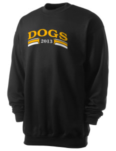 Princeton Junior School Dogs Men's 7.8 oz Lightweight Crewneck Sweatshirt