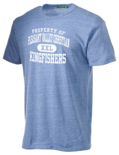 Pleasant Valley Christian Academy Kingfishers Alternative Men's Eco Heather T-shirt